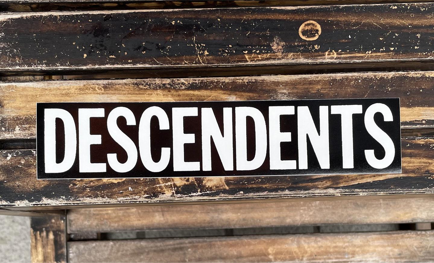 DESCENDENTS ステッカー ロゴ