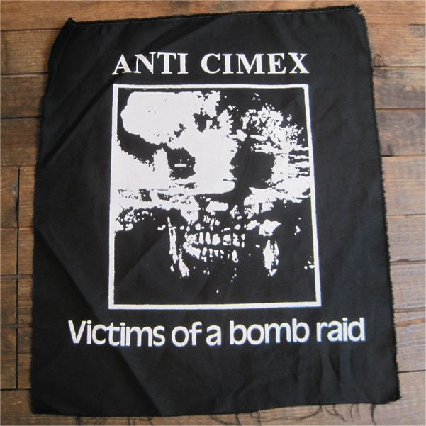 ANTI CIMEX backpatch VICTIMS OF A BOMBRAID