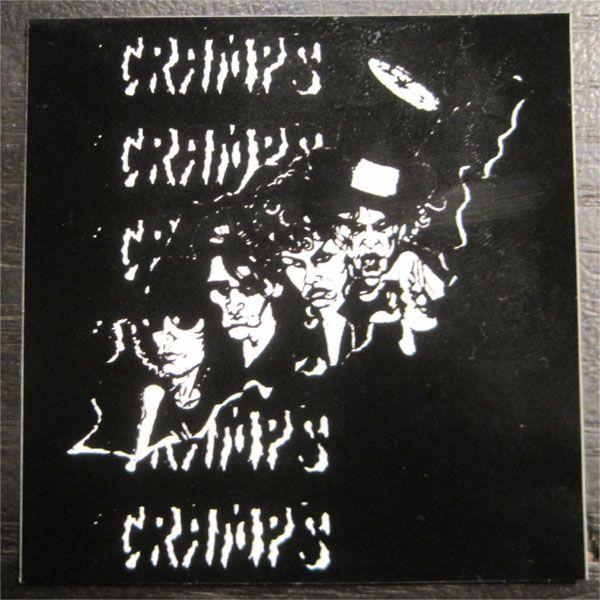 CRAMPS ステッカー イラスト