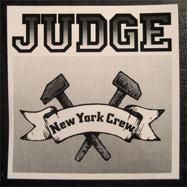 JUDGE ステッカー NEW YORK CREW