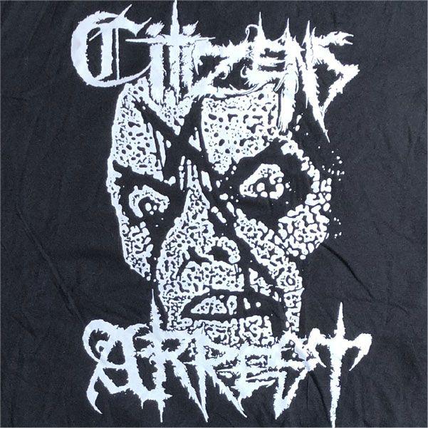 CITIZENS ARREST Tシャツ CxAxNxY BLACK