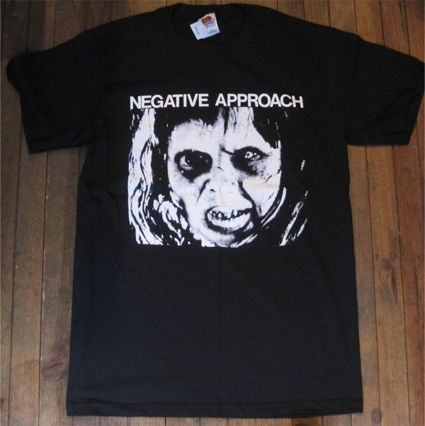 NEGATIVE APPROACH Tシャツ EP