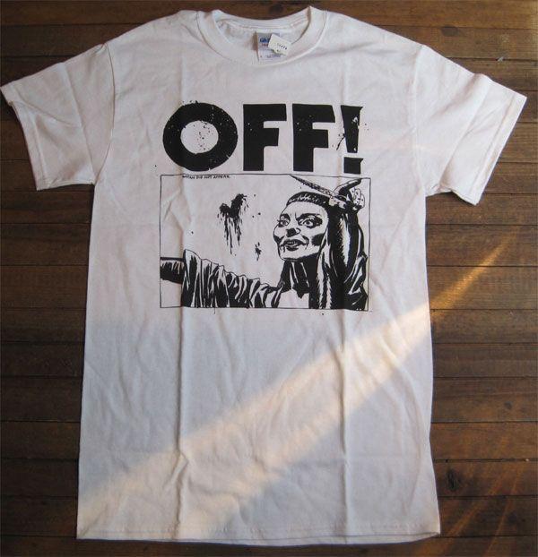 OFF! Tシャツ 1st LP