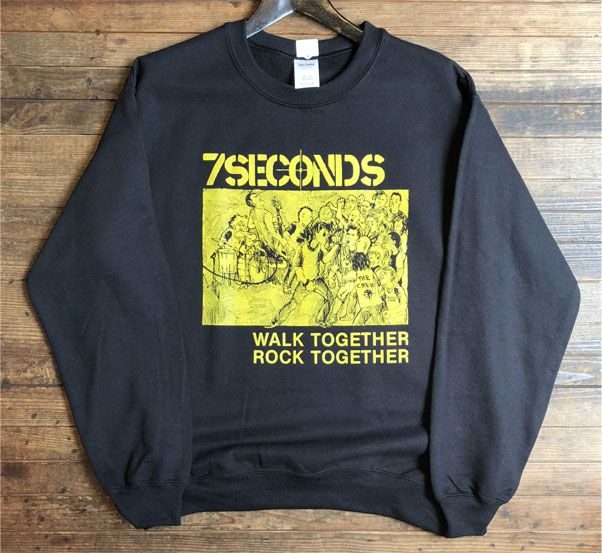 7SECONDS スウェット WALK TOGETHER ROCK TOGETHER