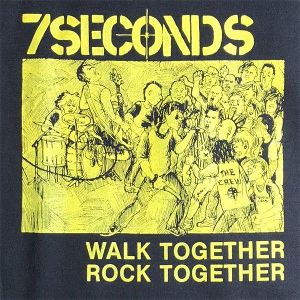 7SECONDS スウェット WALK TOGETHER ROCK TOGETHER