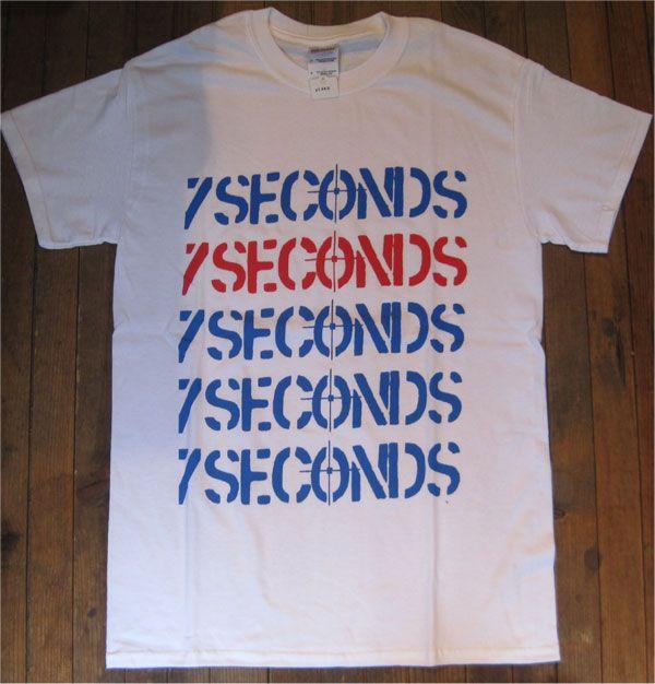 7SECONDS Tシャツ LOGO LOGO LOGO