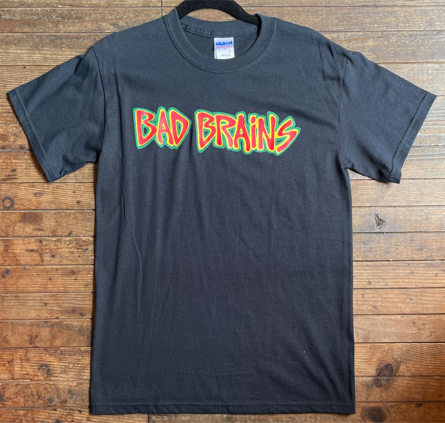 BAD BRAINS Tシャツ LOGO オフィシャル