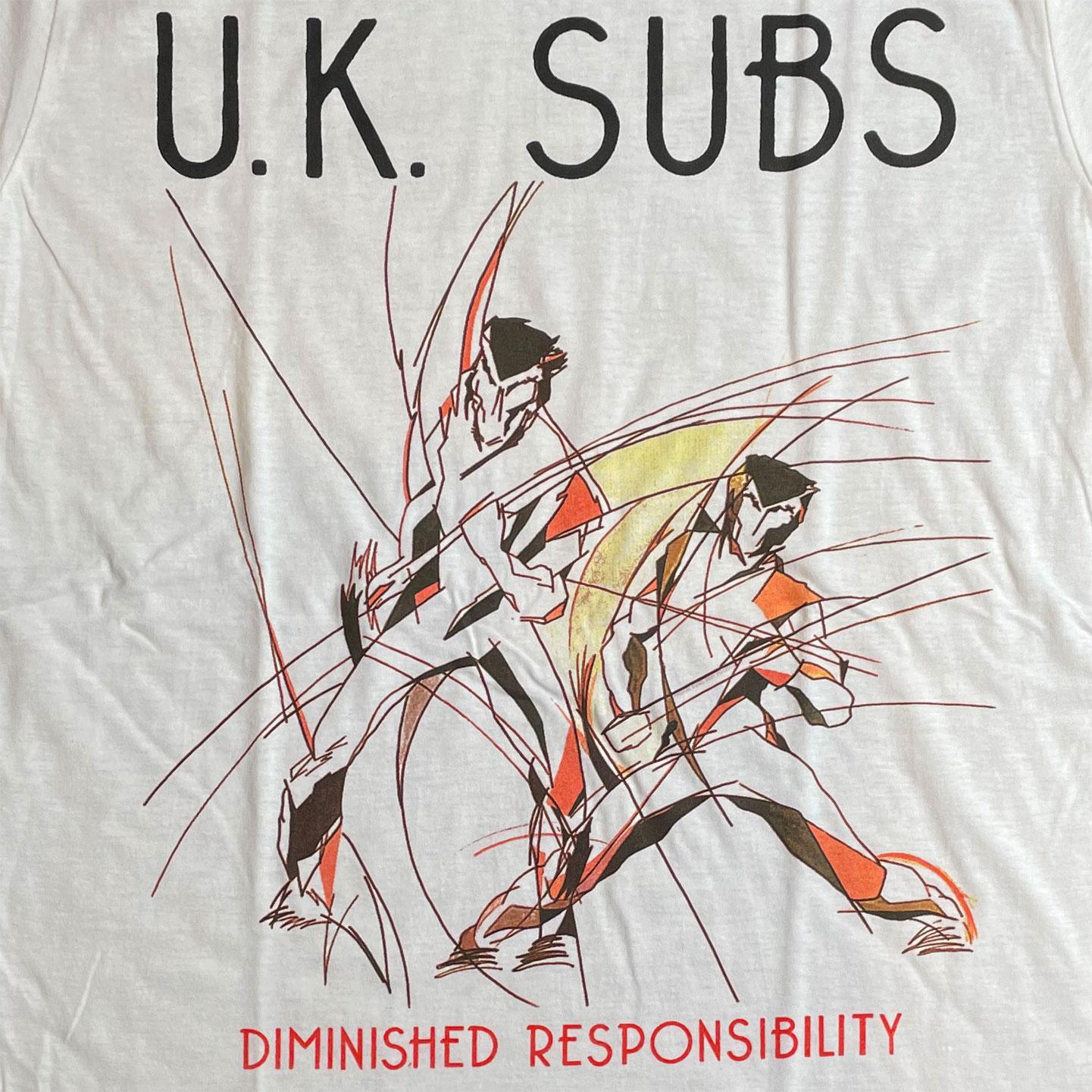 UK SUBS Tシャツ BIGPRINT