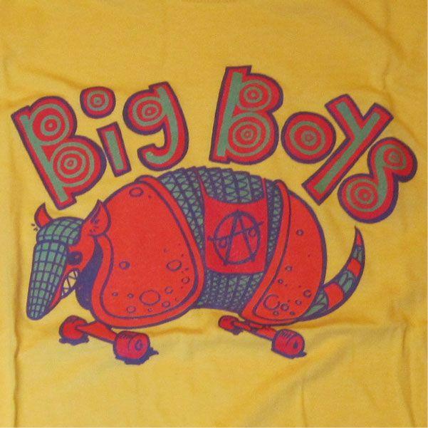 BIG BOYS Tシャツ ALMADILLO