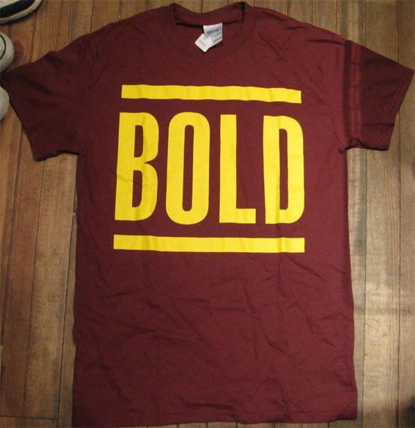 BOLD Tシャツ LIVE 2