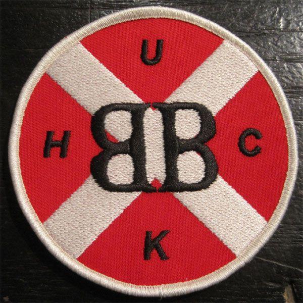 BROKEN BONES 刺繍ワッペン UKHC