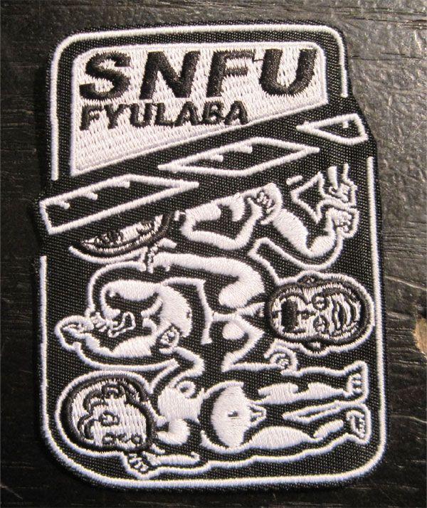 S.N.F.U 刺繍ワッペン FYULABA