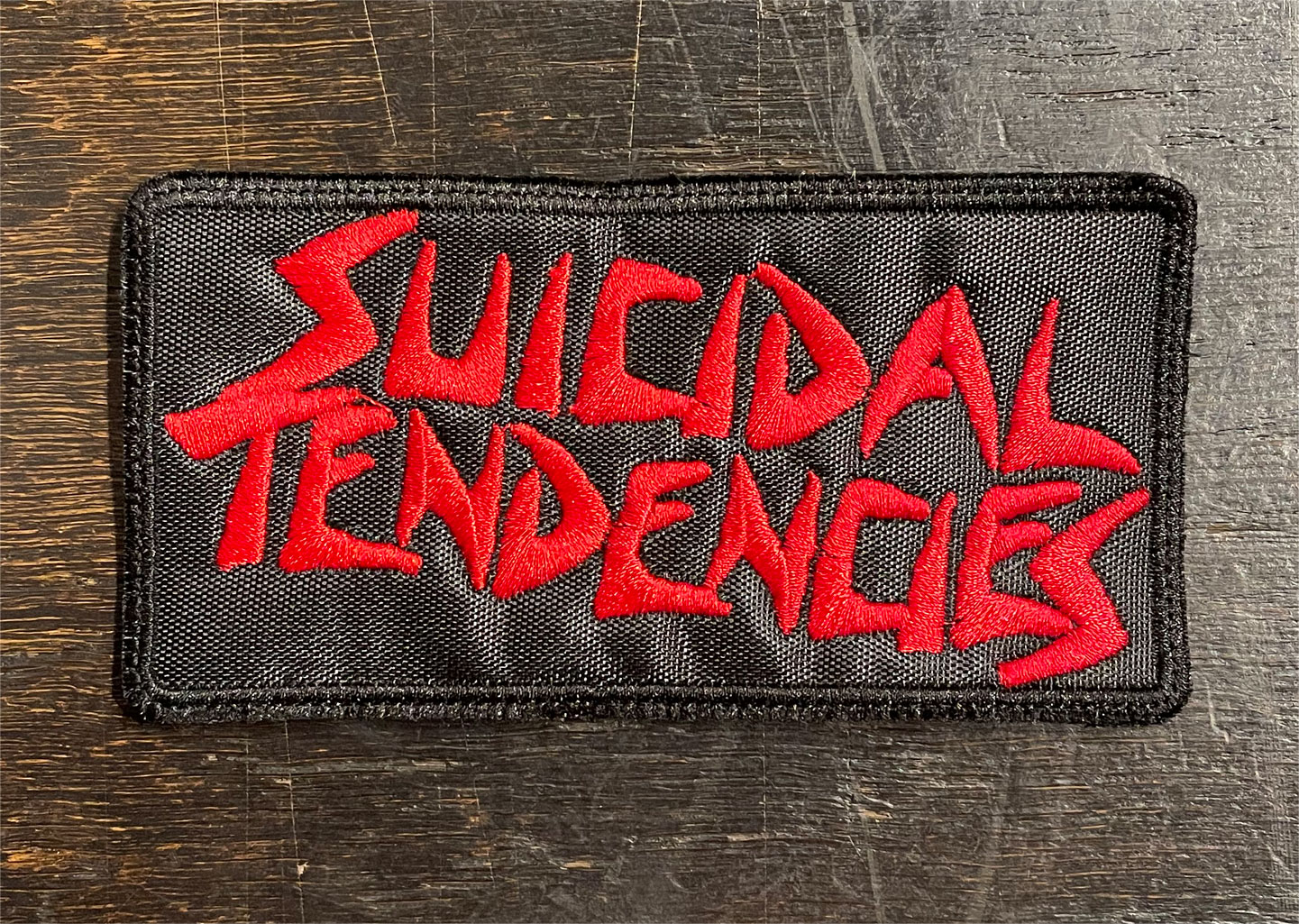 SUICIDAL TENDENCIES 刺繍ワッペン NAME