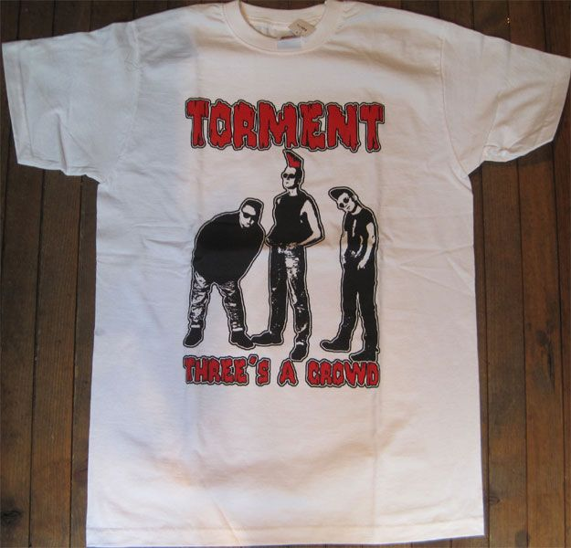 TORMENT Tシャツ THREE'S A CROWD