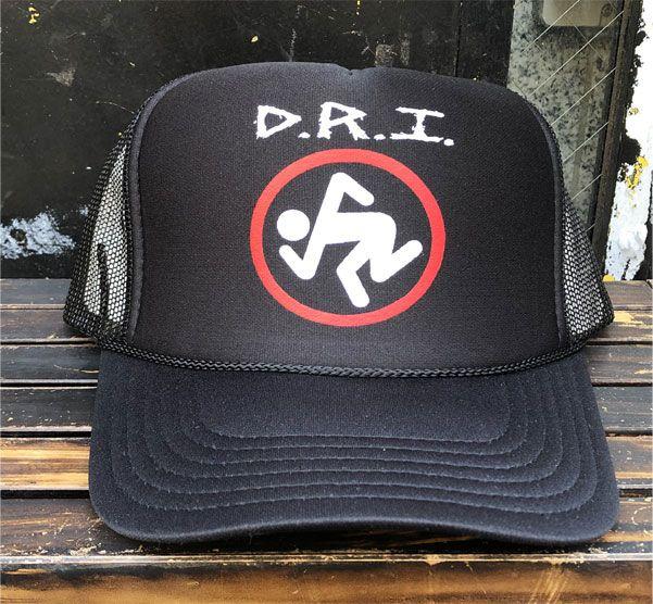 D.R.I. メッシュCAP SKUNKER 2