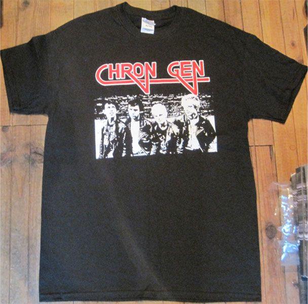 CHRON GEN Tシャツ BAND PHOTO