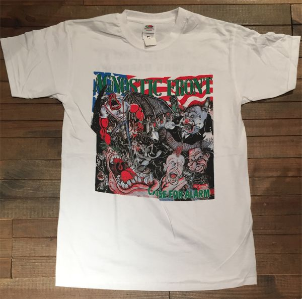 AGNOSTIC FRONT Tシャツ CAUSE FOR ALARM 2