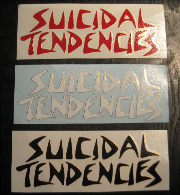 SUICIDAL TENDENCIES ウィンドーステッカー