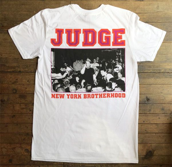 JUDGE Tシャツ NEW YORK BROTHERHOOD