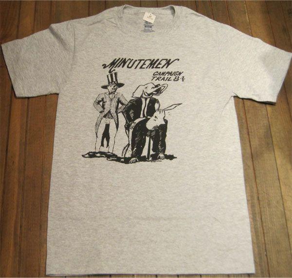 MINUTEMEN Tシャツ 84' TOUR