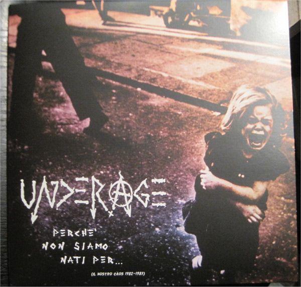 """UNDERAGE 12"""" LP perche' non siamo nati per"""