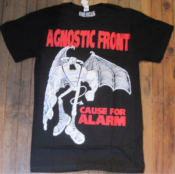 AGNOSTIC FRONT Tシャツ CAUSE FOR ALARM