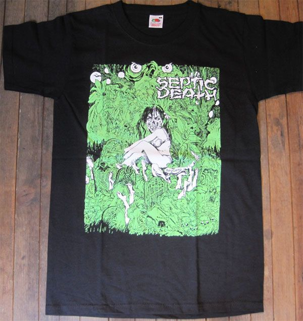 SEPTIC DEATH Tシャツ ATTENTION