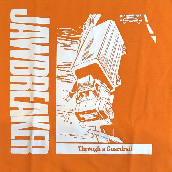 Jawbreaker Tシャツ through the guardrail