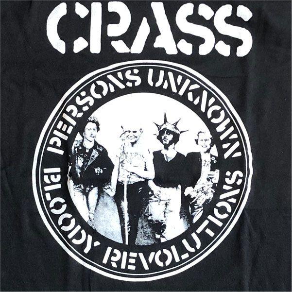 CRASS Tシャツ BLOODY REVOLUTION 1