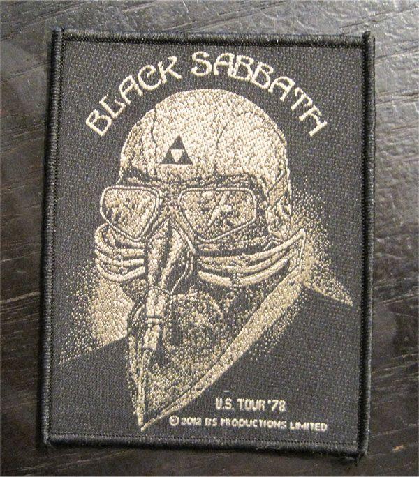 BLACK SABBATH 刺繍ワッペン US TOUR 78