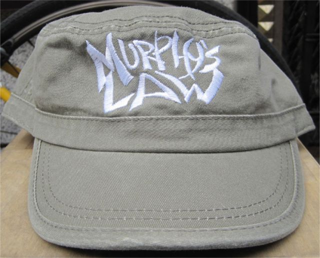MURPHY'S LAW MILITARY CAP