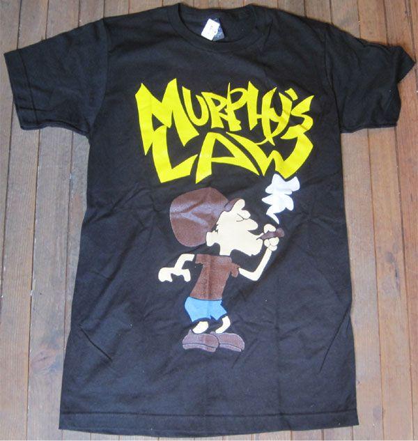 MURPHY'S LAW Tシャツ SMOKE