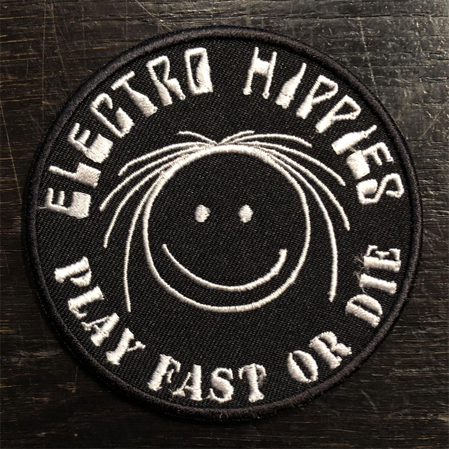 ELECTRO HIPPIES 刺繍ワッペン NICO