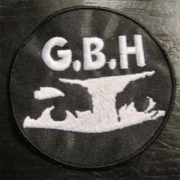 G.B.H 刺繍ワッペン MIDNIGHT MADNESS