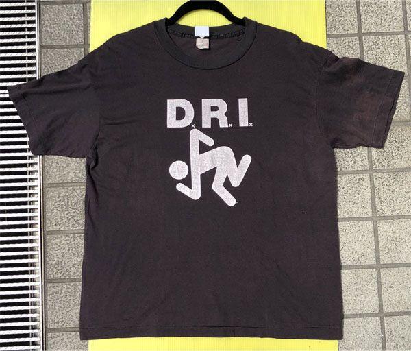 USED! D.R.I. Tシャツ SKUNKER VINTAGE!