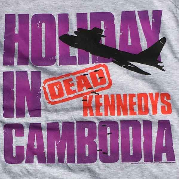 DEAD KENNEDYS Tシャツ HOLIDAY IN CAMBODIA4