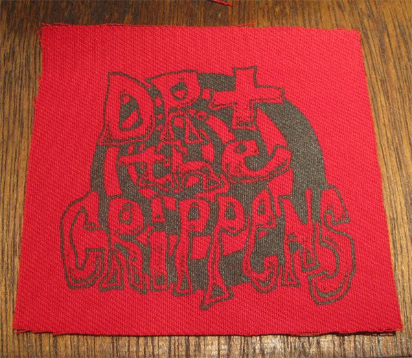 DOCTOR AND THE CRIPPENS PATCH CIRCLE LOGO