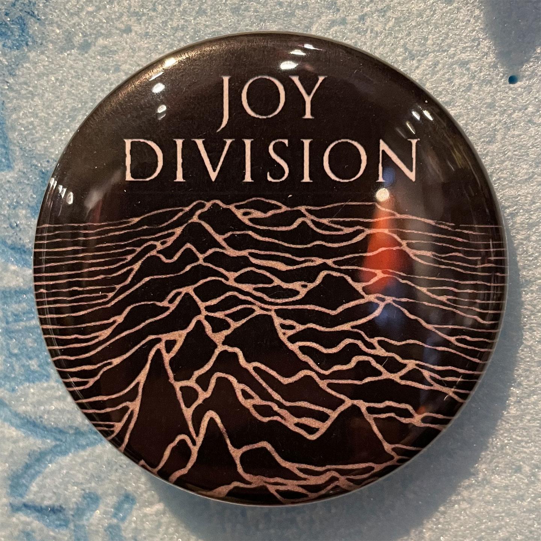 JOY DIVISION デカバッジ UNKNOWN PLEASURES