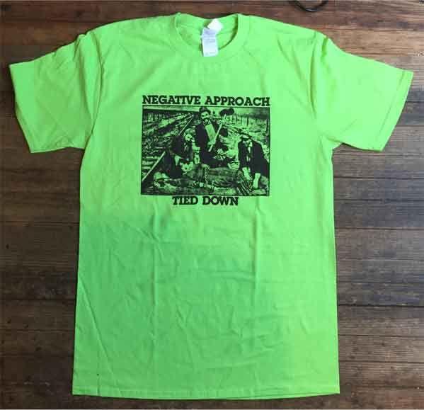 NEGATIVE APPROACH Tシャツ TIED DOWN オフィシャル!
