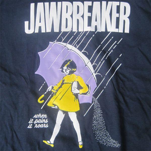 JAWBREAKER Tシャツ when it rains it roars