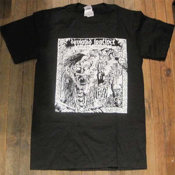 DEVIATED INSTINCT 両面プリントTシャツ Rock n Roll Conformity2