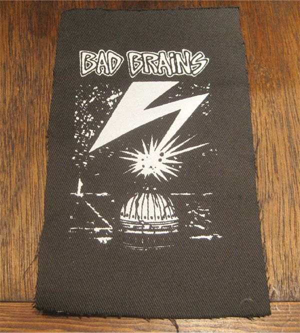 BAD BRAINS PATCH Capitol