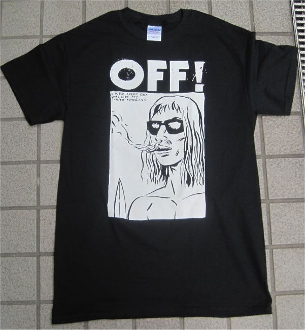 OFF! Tシャツ WASTED YEARS