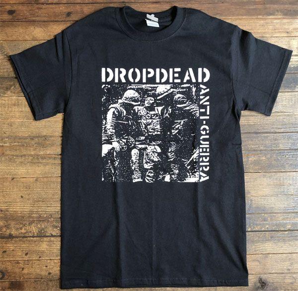 DROPDEAD Tシャツ ANTI-GUERRA