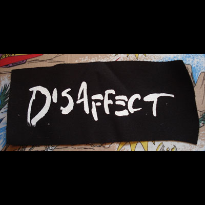 DISAFFECT PATCH ロゴ