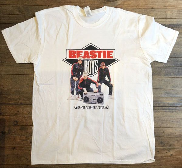 BEASTIE BOYS Tシャツ Solid Gold Hits オフィシャル!