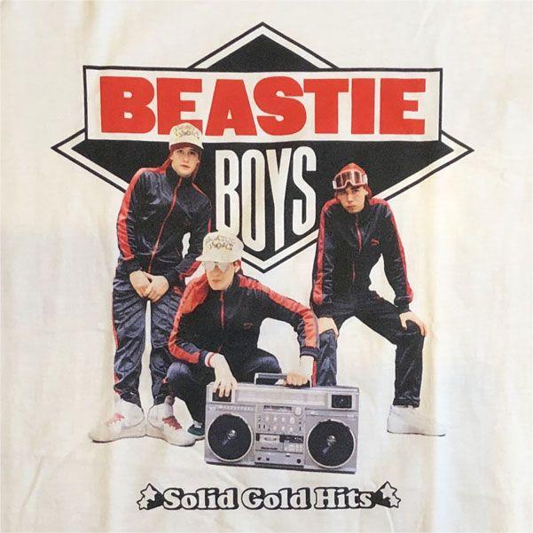 BEASTIE BOYS Tシャツ Solid Gold Hits オフィシャル!