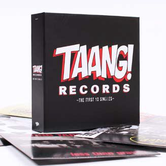 "SALE! Taang! Records 7""x10 + CD The First 10 Singles Ltd.2000!"