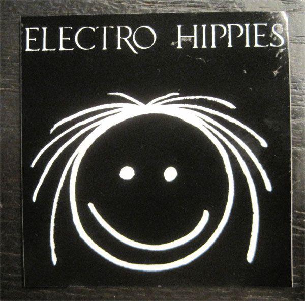 ELECTRO HIPPIES ステッカー NICO