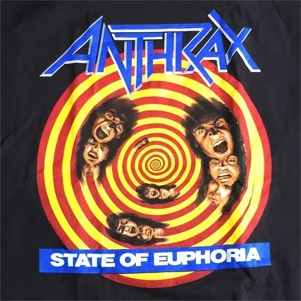 ANTHRAX Tシャツ STATE OF EUPHORIA